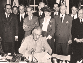 President Franklin D. Roosevelt's Statement on  Signing the G.I. Bill June 22, 1944